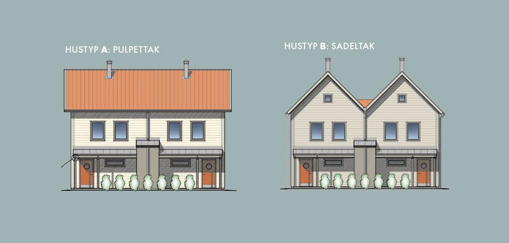 Ängspromenaden – hustyper